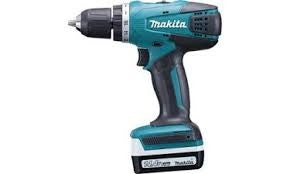 "Makita DF347D Cordless Driver Drill 10mm (3/8"") 14.4V Li-Ion 1.3Ah (2 Batteries and 1 Charger)"