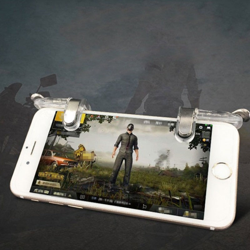 PUBG Mobile Trigger Control الهاتف الخليوي Gamepads Controller Fire L1R1 Gaming Shooter Hot Gamepad