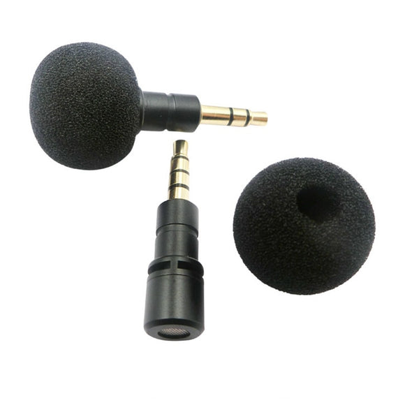 Portable 3.5mm Jack Microphone Mini Condenser Wireless Player Speaker Voice Mic Micorphone For IPhone Android Audio Accessories
