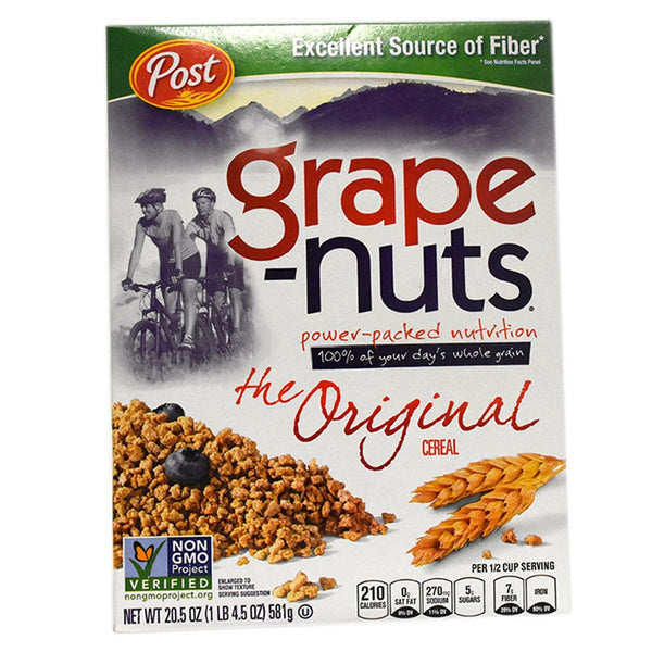 Post Grape Nuts Original Cereal 581g