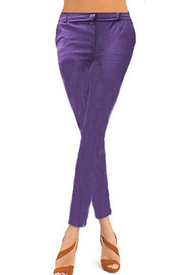 Purple Coloured Skinny Jeggings