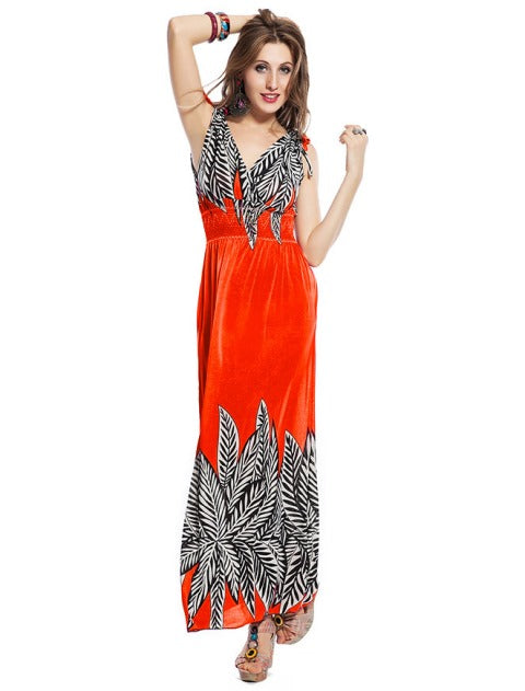Free Size Pink Long Dress For Women