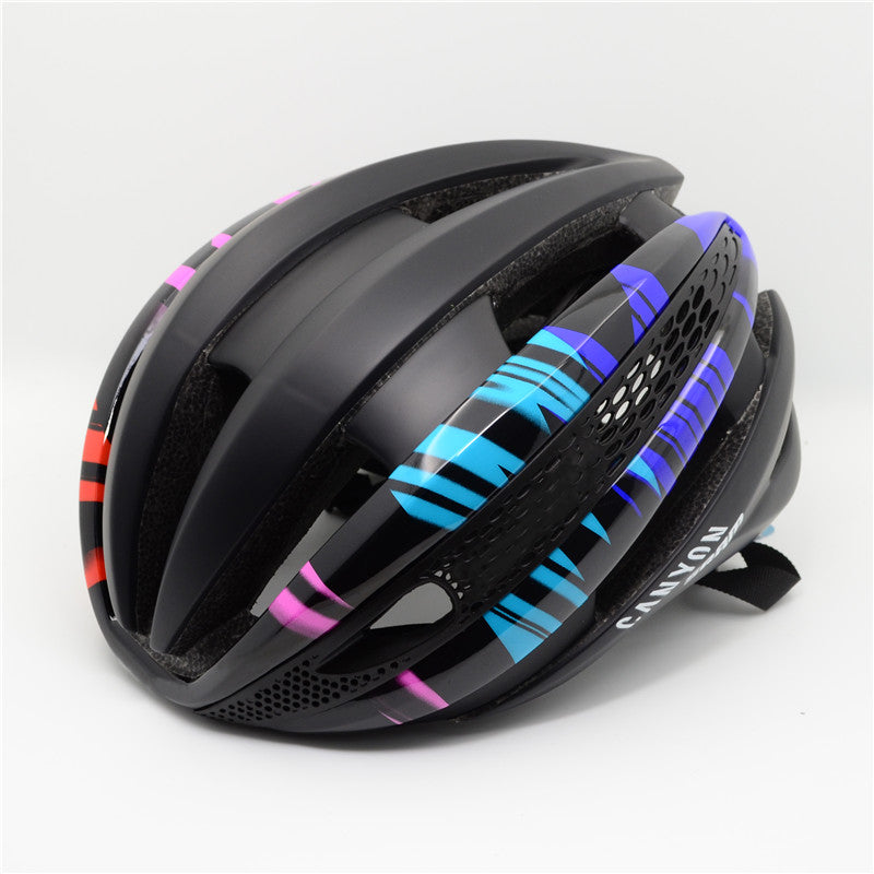 Racing Helmets Brand Cycling Helmet Road Bike MTB Helmet casco bicicleta hombre Bicycle Sports Safety Cap for men women size M