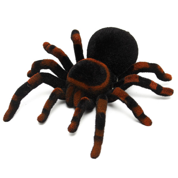 Remote Control 11'' 4CH Realistic RC Spider Tarantula Scary Toy Prank Holiday Gift Model
