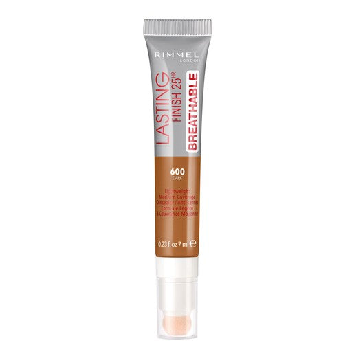 Rimmel London Lasting Finish Breathable Concealer Shade 600 Dark 7ml