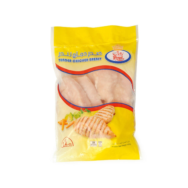 Royal Frozen Tender Chicken Breast 1kg