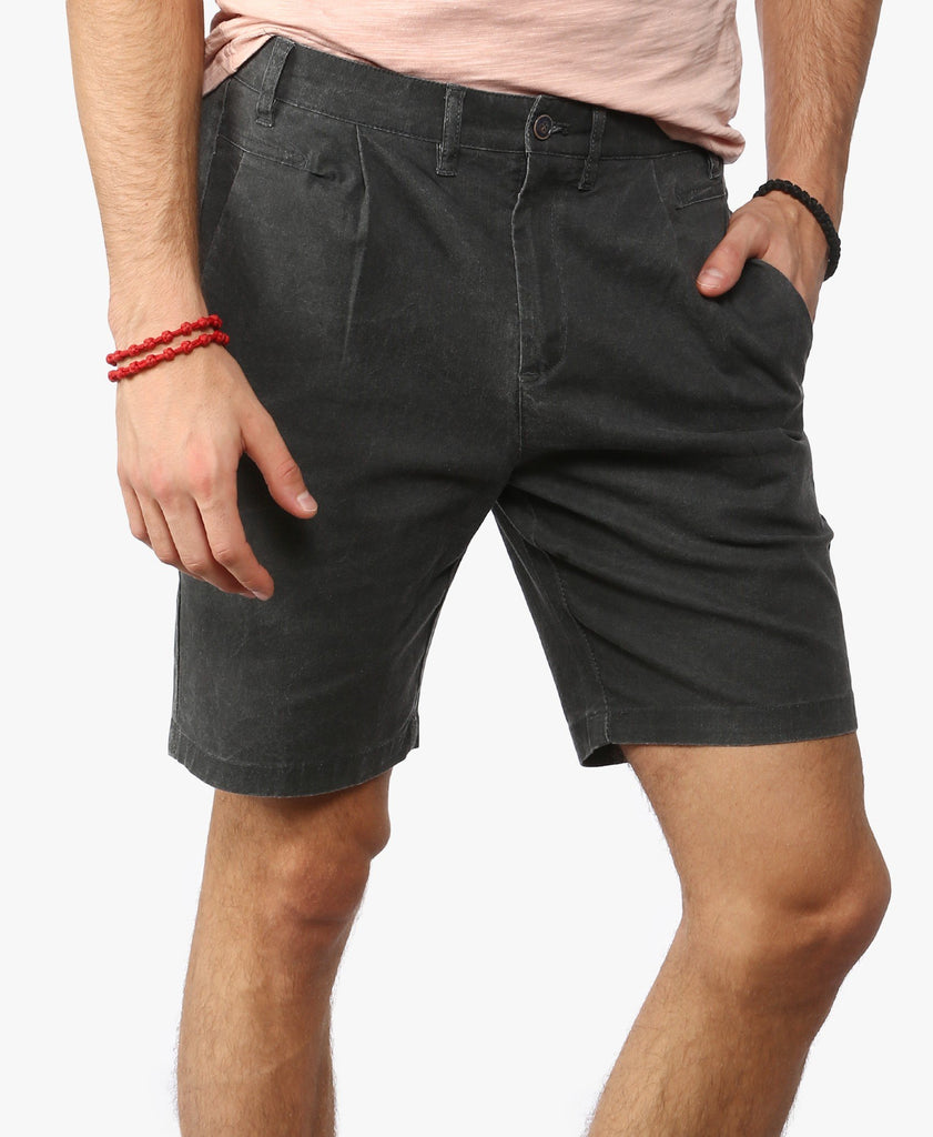 Charcoal Textured Shorts