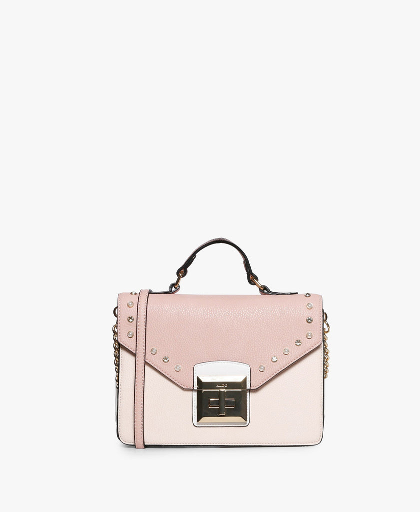 Light Pink Thenancy Top Handle Bag