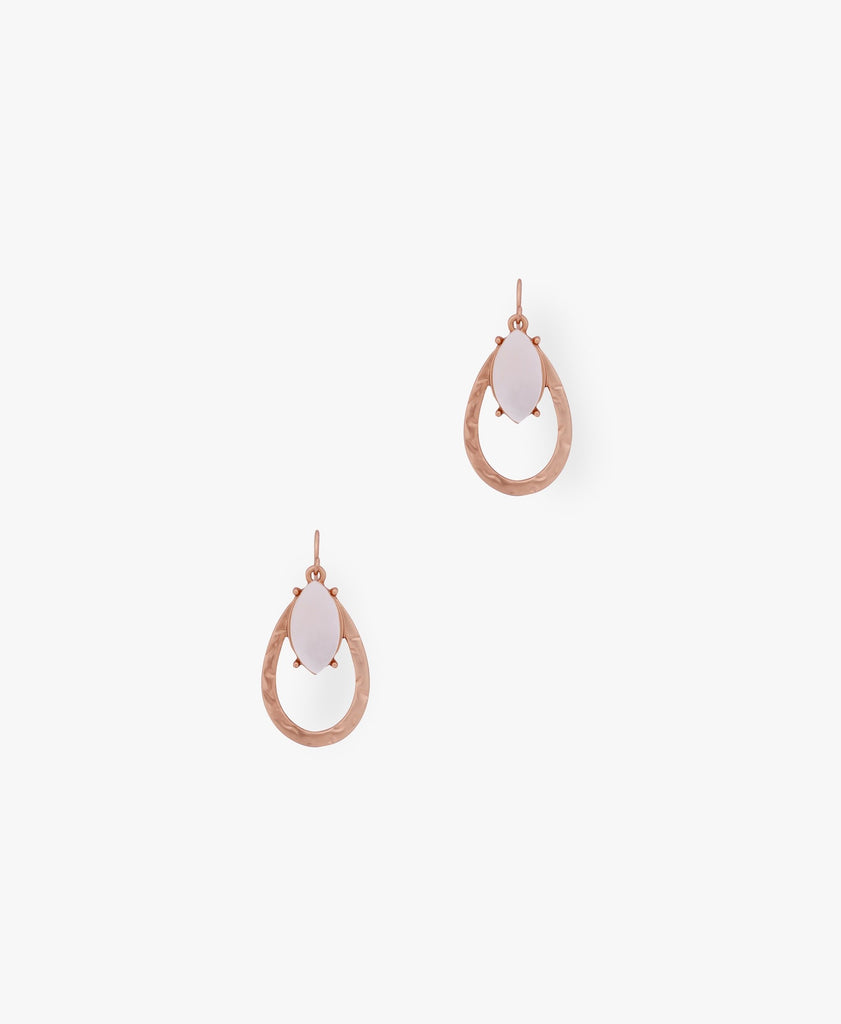 Rose Gold Waterfall Earrings