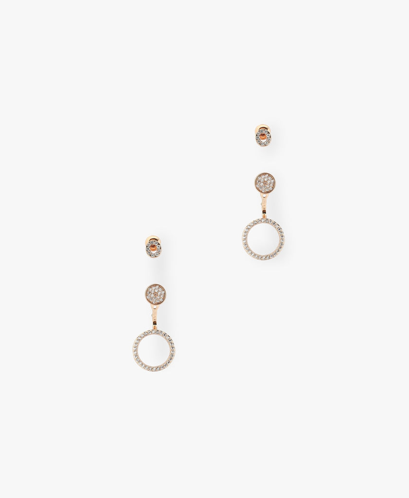 Rose Gold Lungliano Earring Set