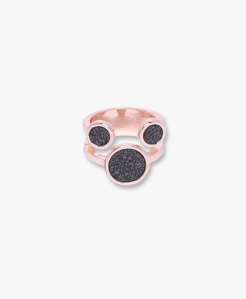 Rose Gold Rose Smoke Ring