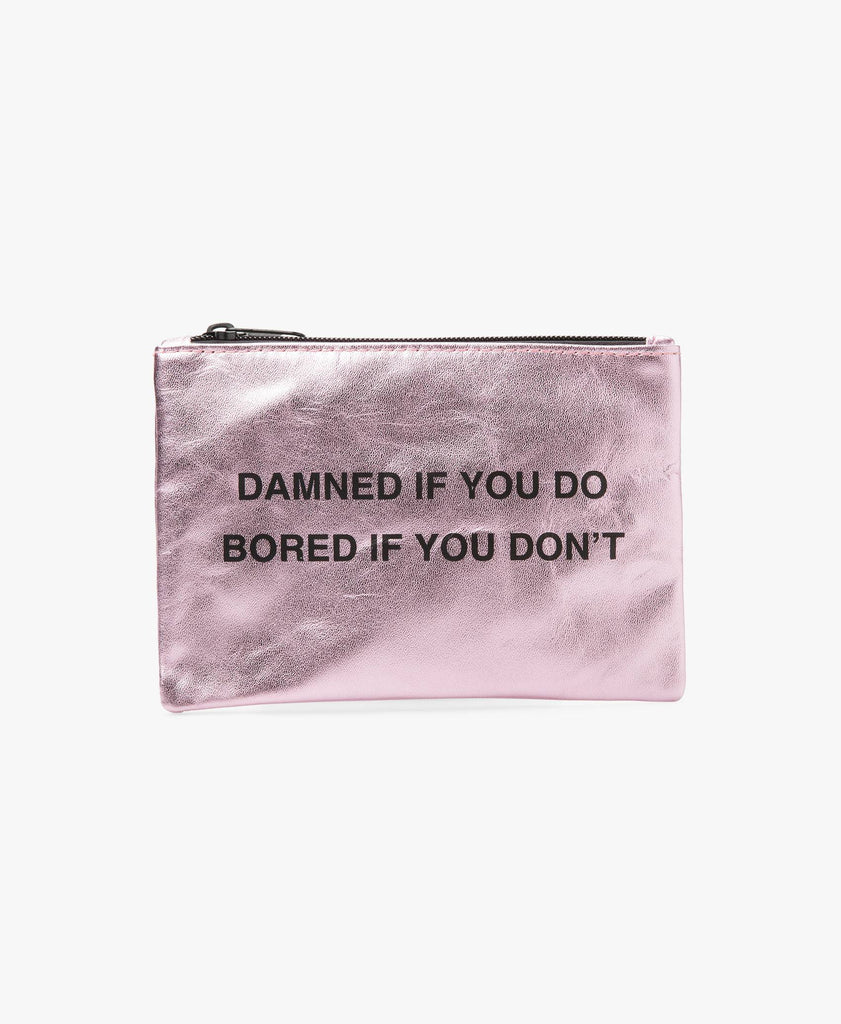 Damned If You Do Coin Purse
