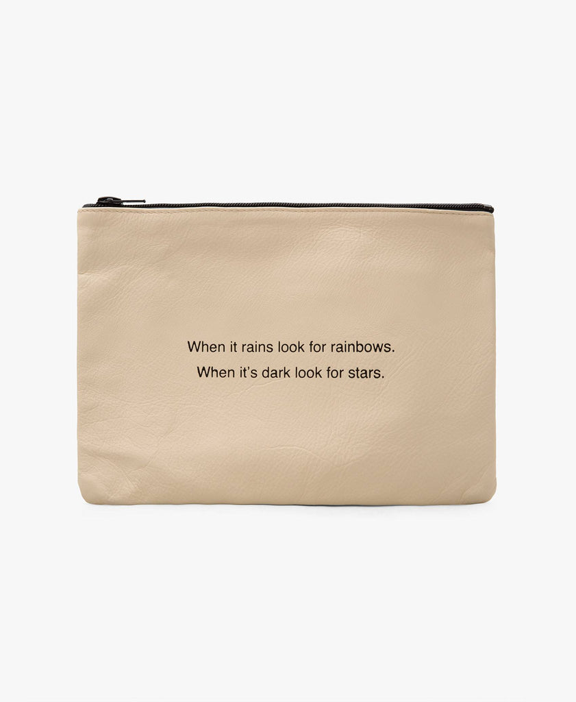 Look For Rainbows Pouch