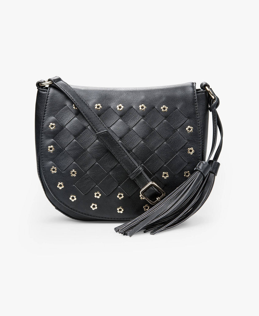Studded Nights Cross-Body Bag
