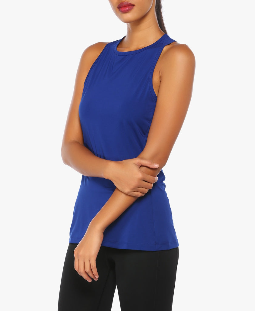 Blue Climacool Training Tank Top