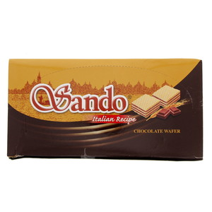 Sando Italian Reipe Chocolate Wafer 32g x 24 Pieces