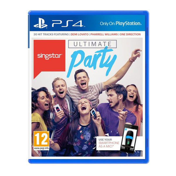 Singstar-UltimateParty PlayStation 4
