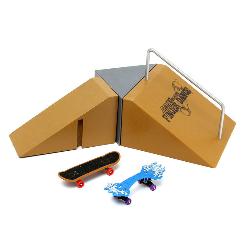 Slope Stair Ramp for Tech Deck Finger Board Finger Board Skate Ultimate Park J2