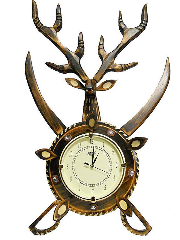 Deer Shaped Wooden Watch