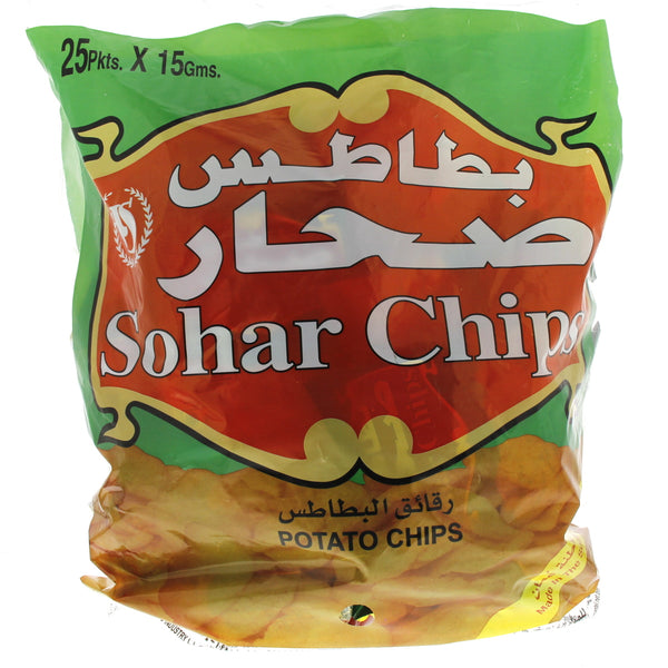 Sohar Potato Chips 15g x 25 Pieces