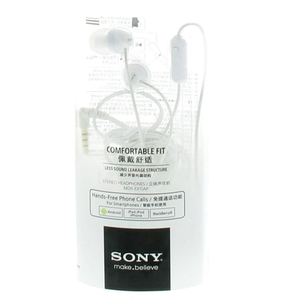 Sony Earphone MDREX15AP