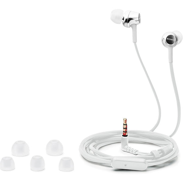 Sony In-Ear Headphone MDR-EX155AP White