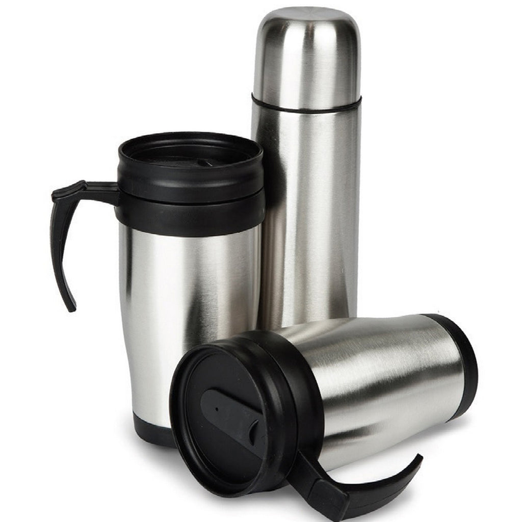 Speed Vacuum Flask 500ml + 2 Mugs
