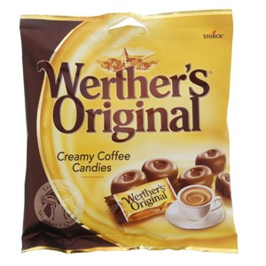 Storck Werther's Creamy Coffee Candies 125g