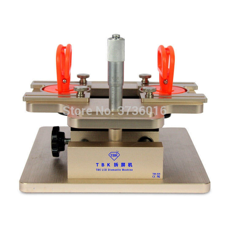 TBK 928 LCD Split Screen Machine Bezel middle Frame Separator for Samsung HTC LG Suction to separate lcd frame