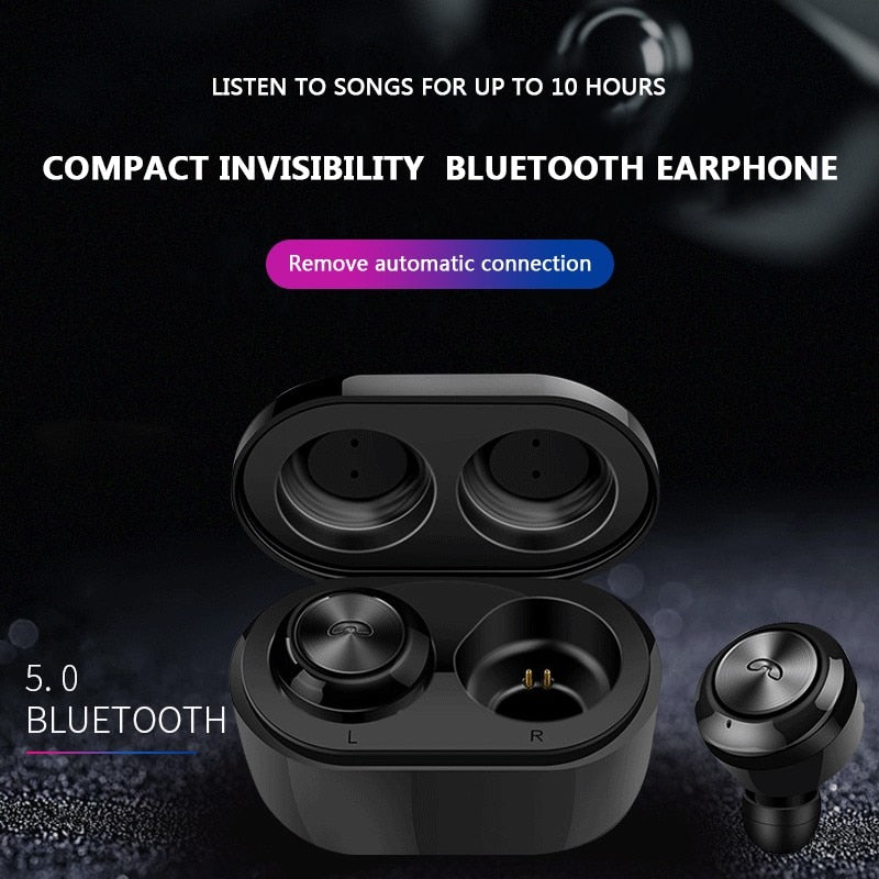 TWS A6 Bluetooth 5.0 True Wireless Bluetooth Earbuds In-Ear Active Noise-Cancelling