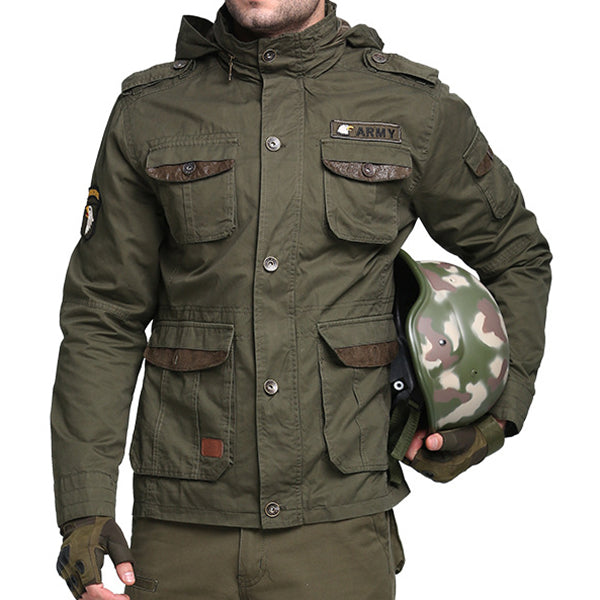 Tactical Army Military Style Multi Pockets Outdoor Jackets