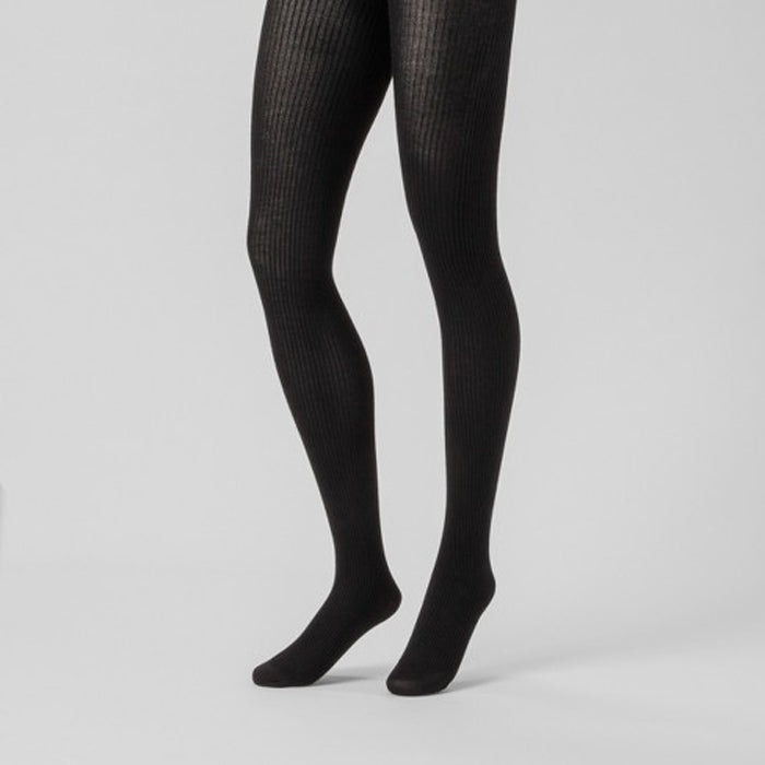Target Navy Blue Ribbed Tights