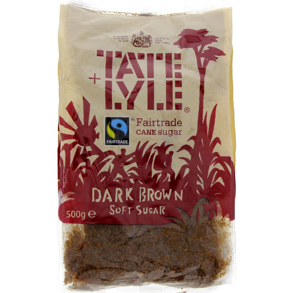 Tate Lyle Dark Brown Soft Sugar 500 gm