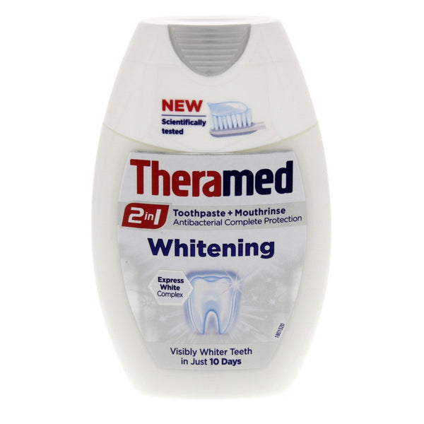 Theramed Whitening Toothpaste 2 In 1 75ml