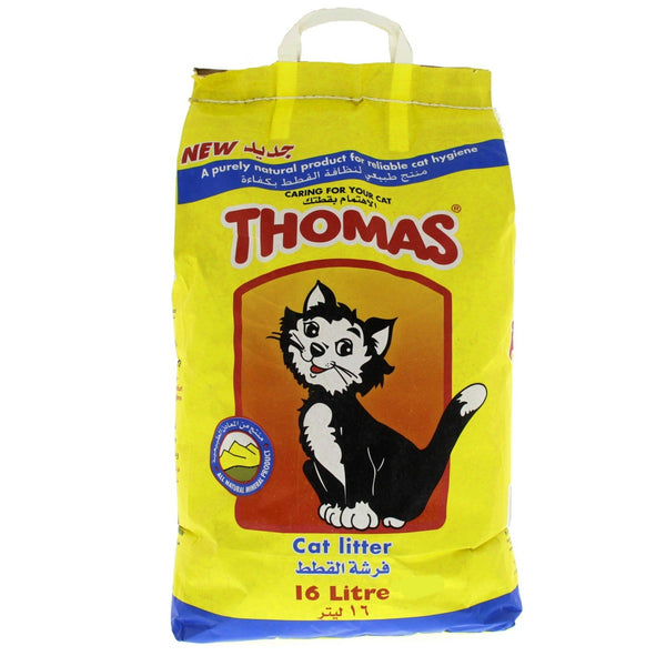 Thomas Cat Litter Granules 16Litre