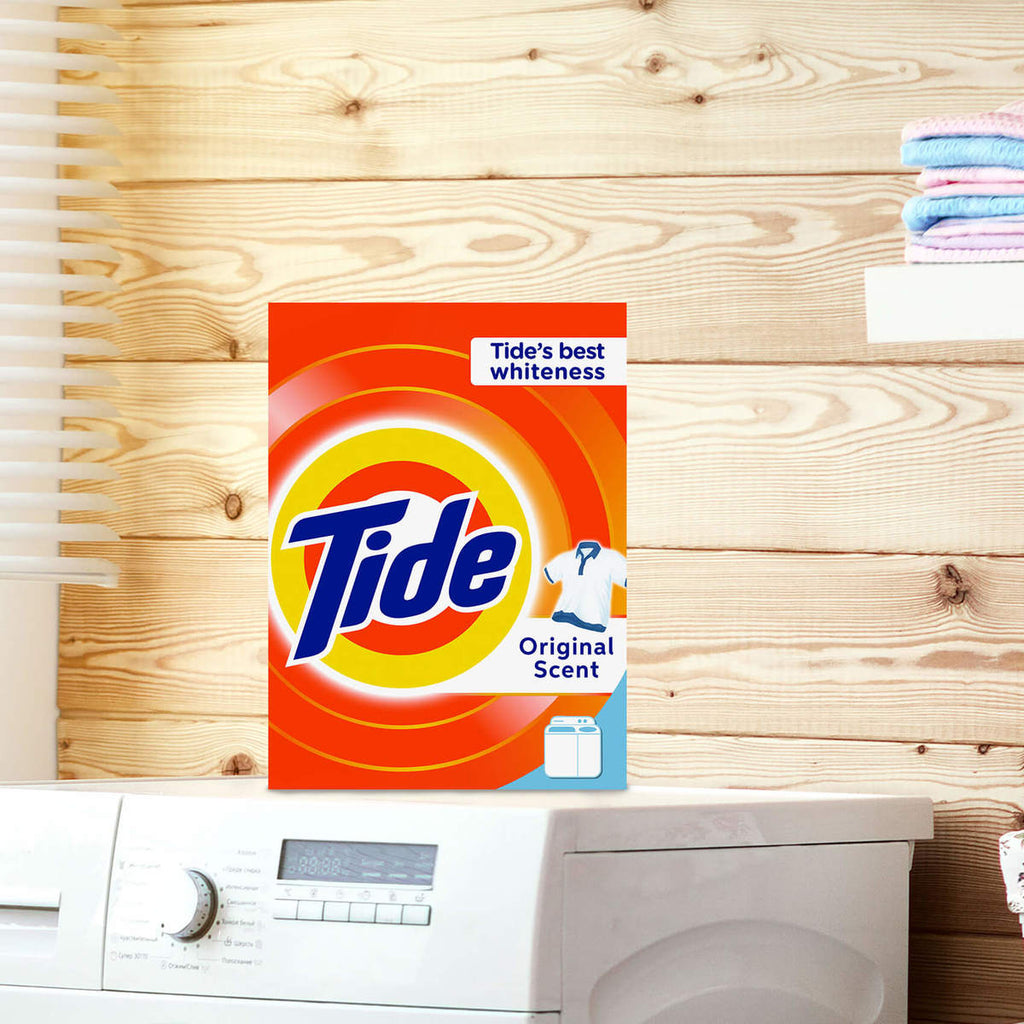 Tide Laundry Powder Detergent Original Scent 9kg