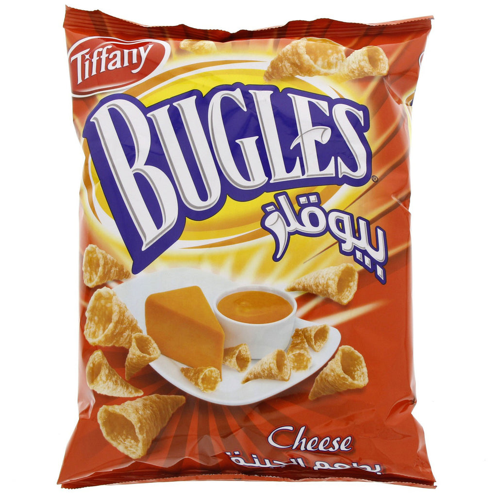 Tiffany Bugles Cheese Chips 145g
