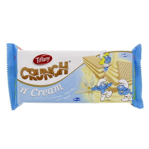 Tiffany Crunch 'n' Cream Vanilla Cream Wafers 76g