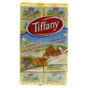 Tiffany Glucose Milk & Honey Biscuits 50g x 12 Pieces