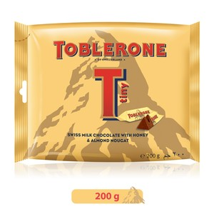 Toblerone Milk Chocolate With Honey & Almond 200g