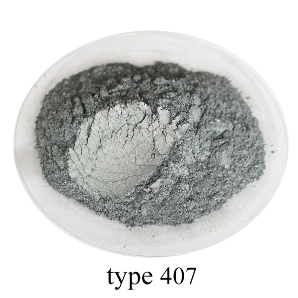 Type 407 Pigment Pearl Powder Healthy Natural Mineral Mica Powder DIY Dye Colorant,use for Soap Automotive Art Crafts, 50g