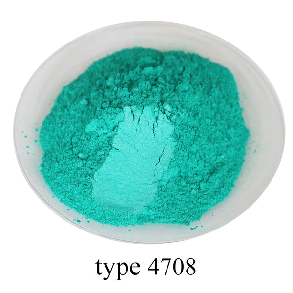 Type 4708 Pigment Pearl Powder Healthy Natural Mineral Mica Powder DIY Dye Colorant,use for Soap Automotive Art Crafts, 50g