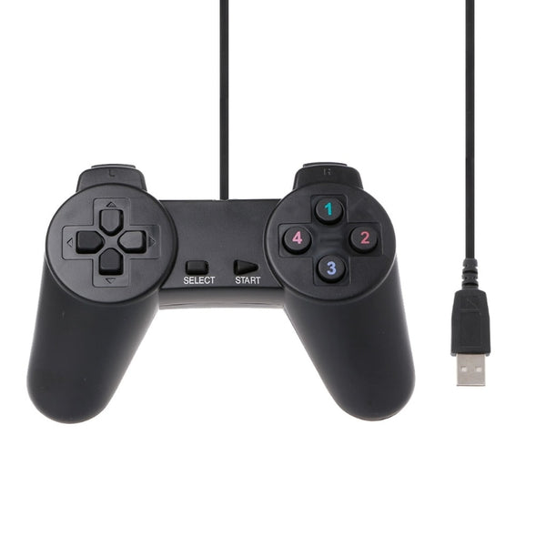 USB 2.0 Gamepad Gaming Joystick Wired Game Controller For Laptop Computer PC