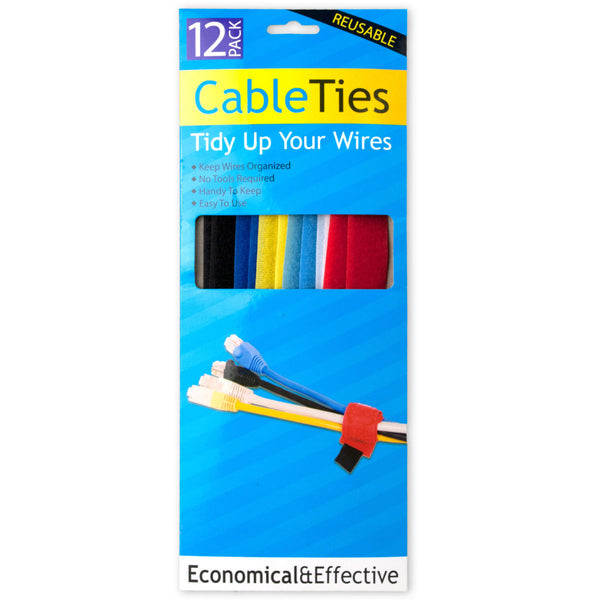 Hook & Loop Cable Ties