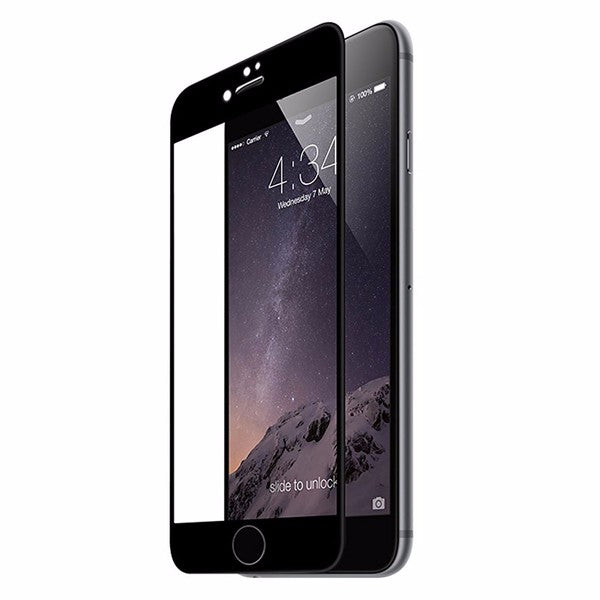 Ultra Thin 0.2mm 9H 3D Carbon Fiber Soft Edge Tempered Glass Screen Protector for iPhone 7 Plus 5.5