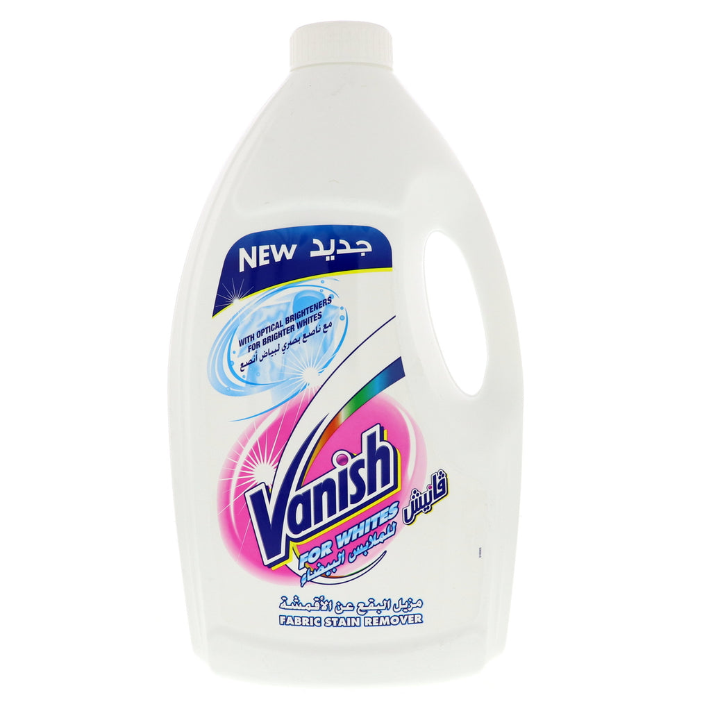 Vanish Fabric Stain Remover For Whites 3Litre