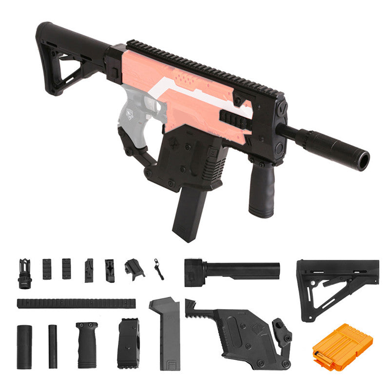WORKER MOD Vector Imitation Combo Set For Nerf N-STRYFE Elite Retaliator Modify Accessory Kit Toy