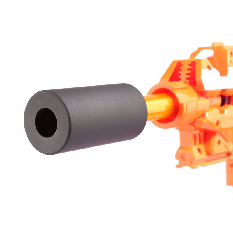 WORKER Smooth Suppressor Front Tube S For Nerf N-strike Elite Retaliator Toys Accessory