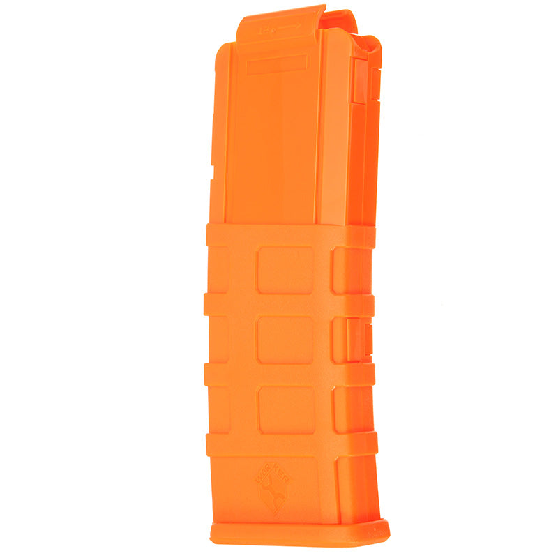 WORKER Toy 12Darts Plastic Clip Magazine For Nerf Replacement Accessory Toy Orange
