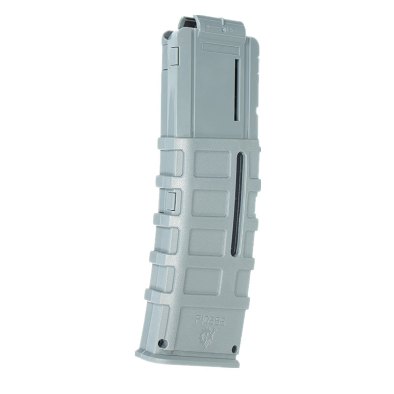 WORKER Toy 15Darts Plastic Clip Magazine For Nerf Replacement Accessory Toys Gray